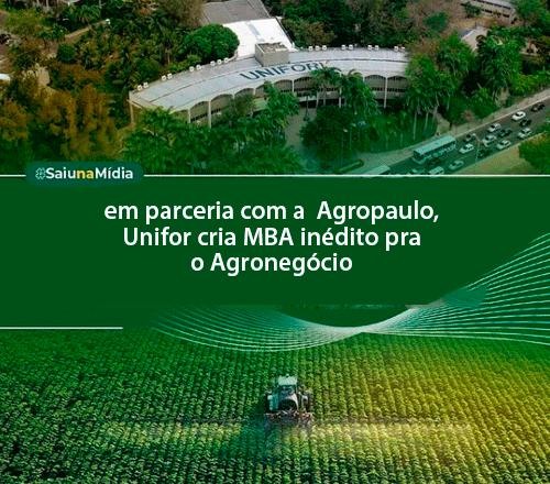 Imagem da pagina: Unifor cria MBA para o Agronegócio. Especialização é inédita